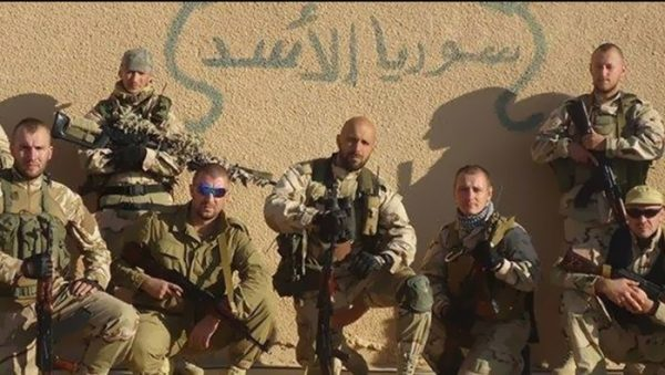 عناصر روس من شركة فاغنر في سوريا