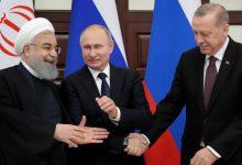 بوتين أردوغان روحاني