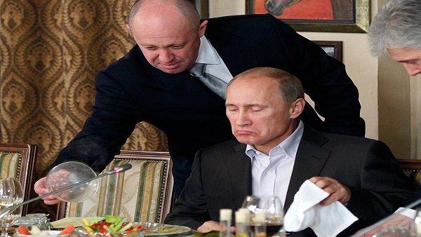 يفغني برويغوجين وفلاديمير بوتين
