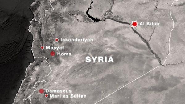 موقع البرنامج النووي السوري