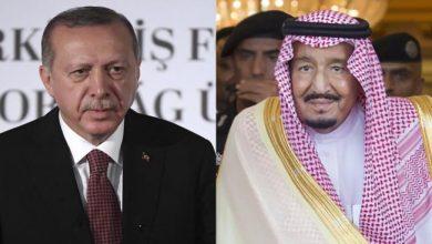 Photo of أردوغان يتلقى رسالة هامة من الملك سلمان وولي عهده