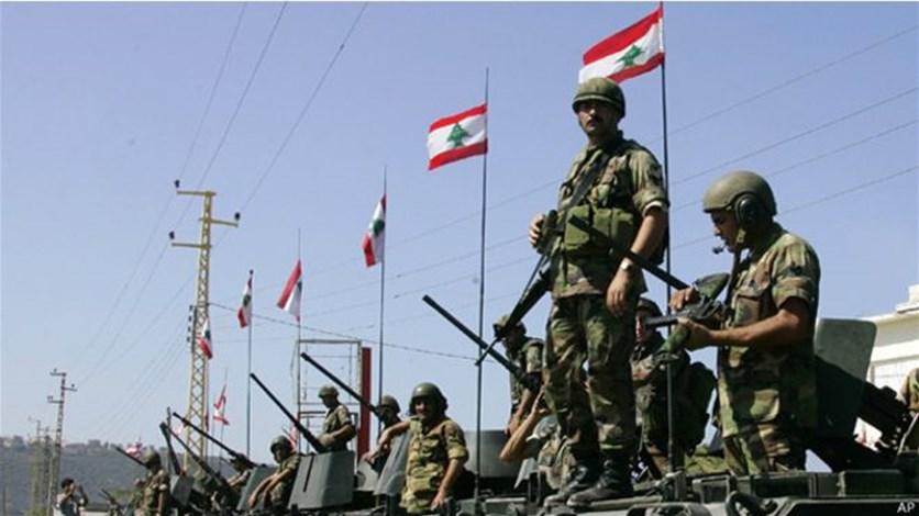 الجيش اللبناني يؤيد المظاهرات