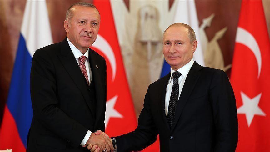 الرئيس التركي أردوغان ونظيره الروسي بوتين