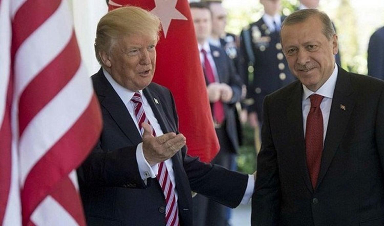 الرئيس التركي أردوغان والرئيس الأمريكي ترامب