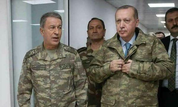 الرئيس أردوغان والجنرال خلوصي آكار