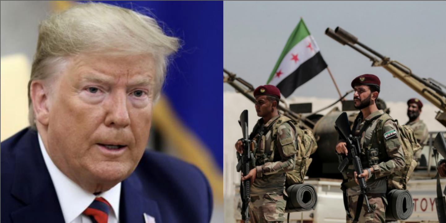 ترامب يهاجم بشار الأسد