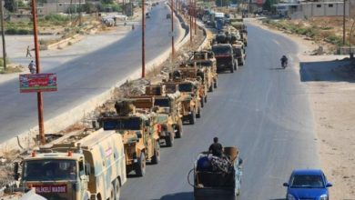 Photo of للمرة الثانية خلال أيام.. تركيا ترسل تعزيزات عسكرية ضخمة إلى نقاط المراقبة في إدلب