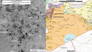 Photo of صور أقمار صناعية تكشف الطريقة التي تتبعها أمريكا في تهريب النفط السوري إلى الخارج
