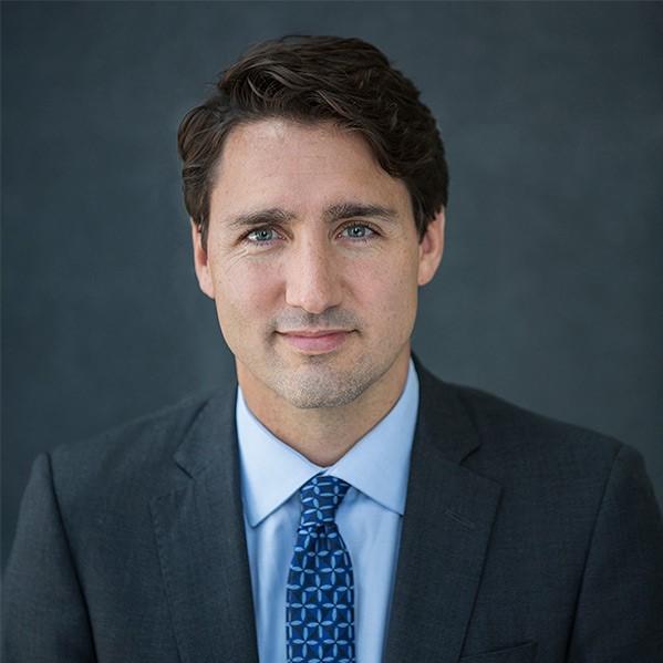 رئيس وزراء كندا جاستين ترودو