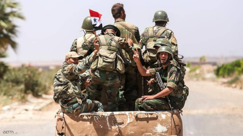 جنود تابعين لنظام الأسدجنود تابعين لنظام الأسد