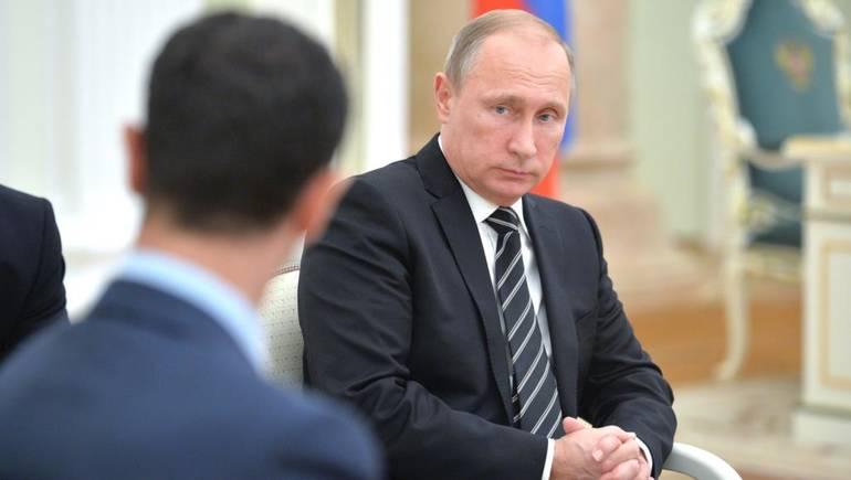 دعم روسيا للأسد