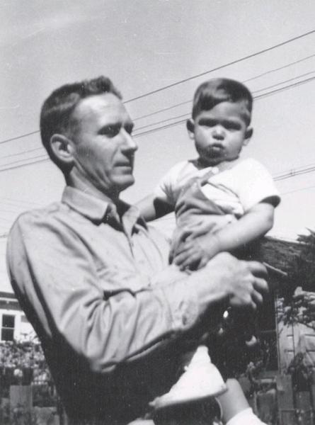 صورة ستيف جوبز ووالده بالبتني