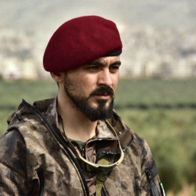 قائد فرقة الحمزة سيف أبو بكر