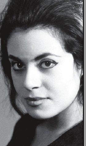 صورة للكاتبة غادة السمان أيام شبابها