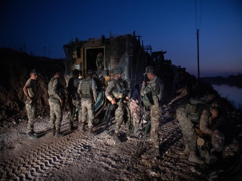قرى ومواقع تحت سيطرة الجيش التركي
