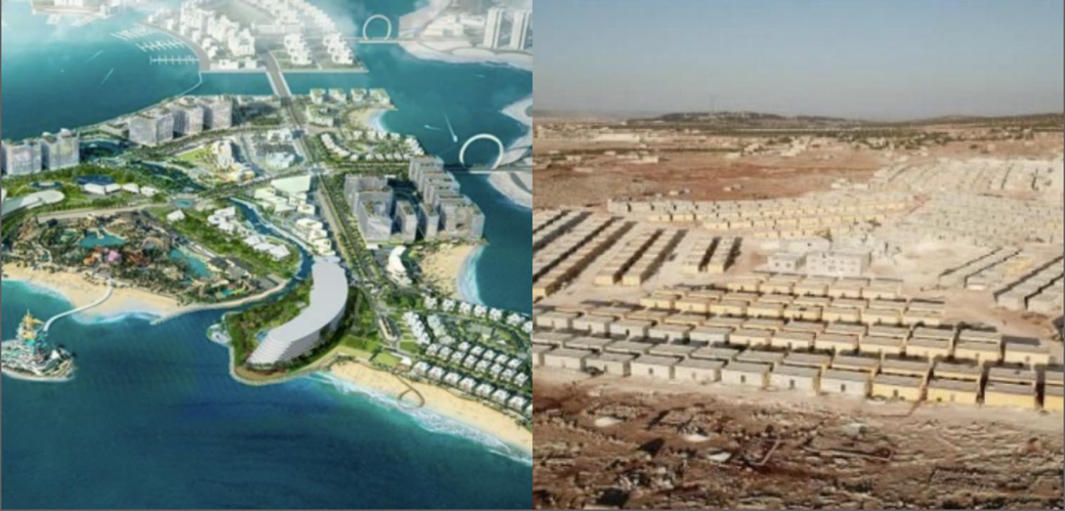 قطر الخيرية مساكن في سوريا