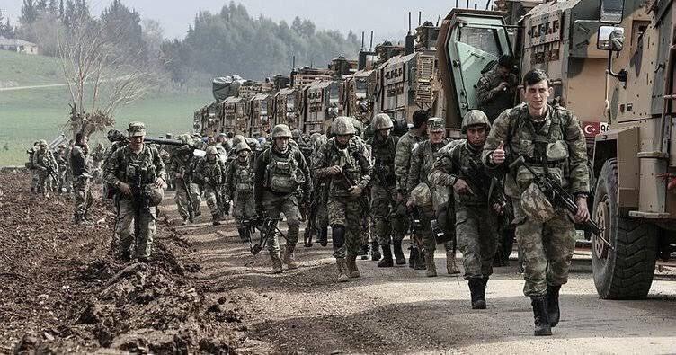 وحدات من الجيش التركي في سوريا