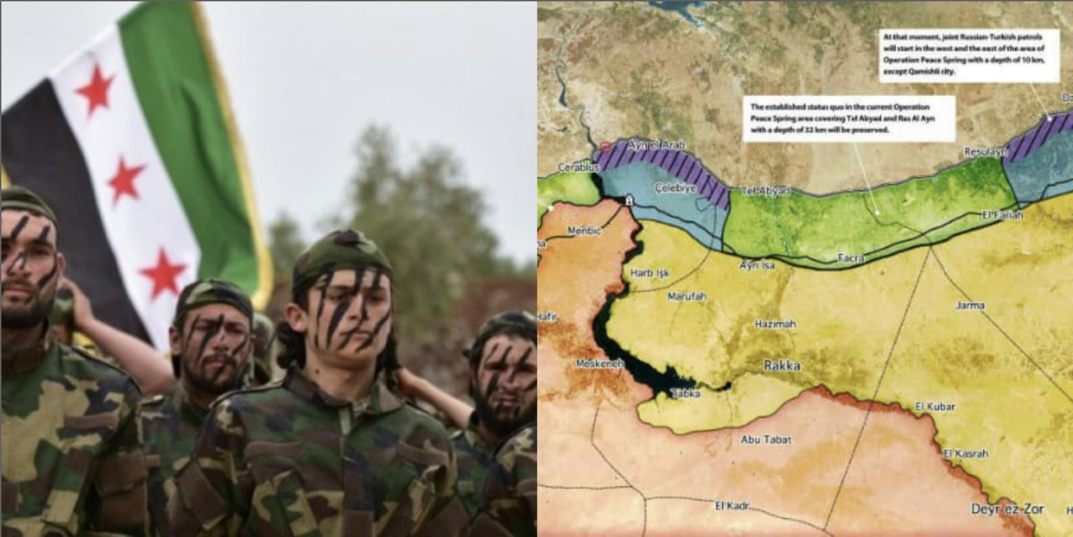 الجيش الوطني السوري المنطقة الآمنة