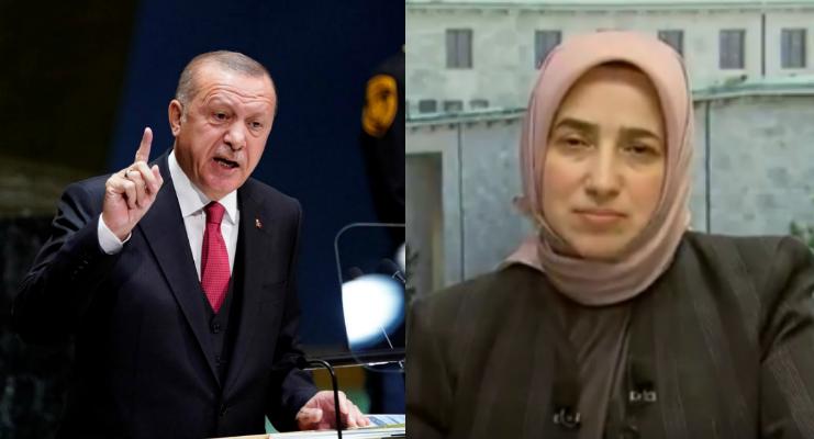 أردوغان يدافع عن نائبة محجبة