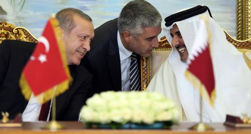 أردوغان يزور قطر ويلتقي الشيخ تميم