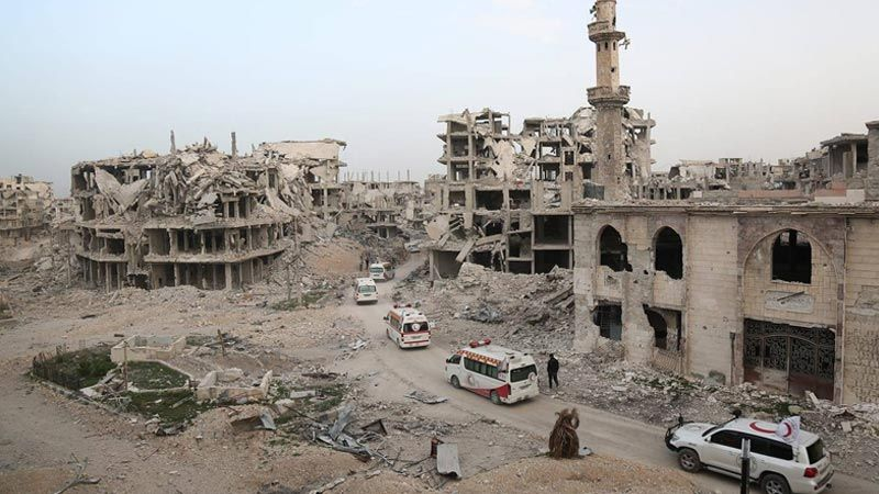 شروط أمريكية لإعادة إعمار سوريا