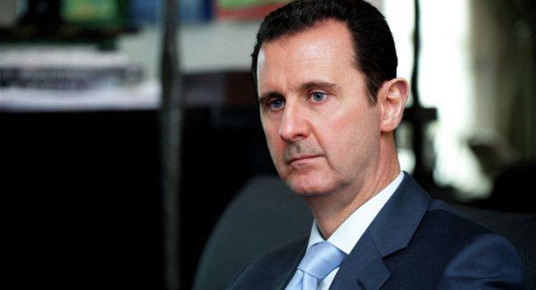 رأس النظام السوري بشار الأسد