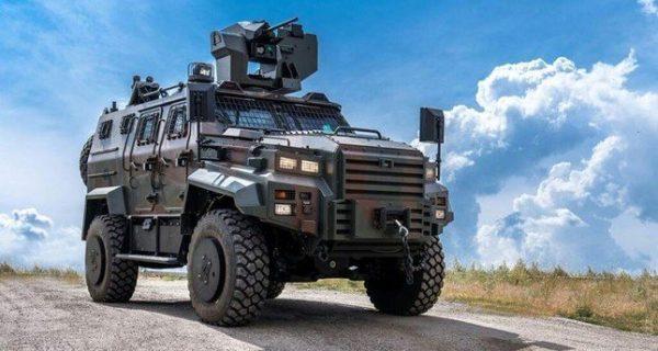 التنين مركبة عسكرية تركية محلية الصنع