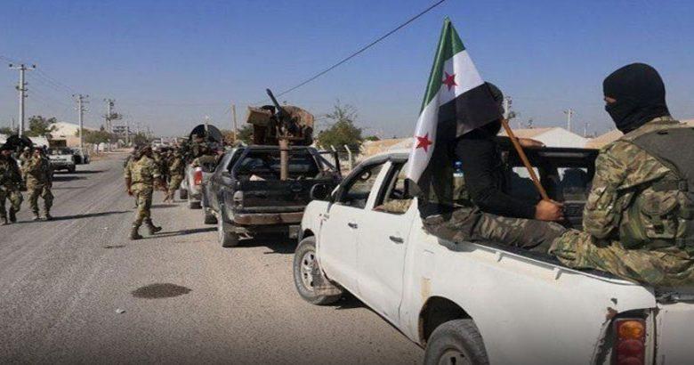 تقدم الجيش الوطني السوري شمال الرقة