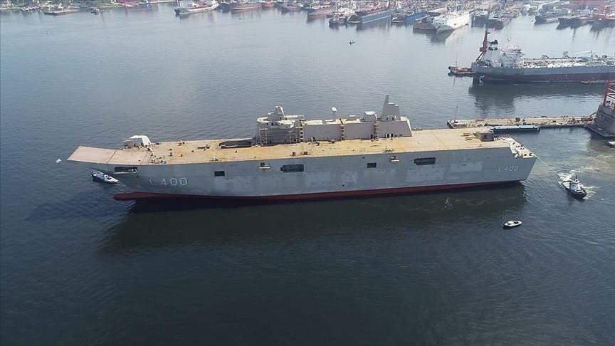 السفينة التركية أناضوليا