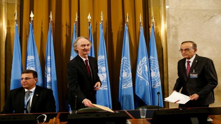 اللجنة الدستورية السورية جنيف