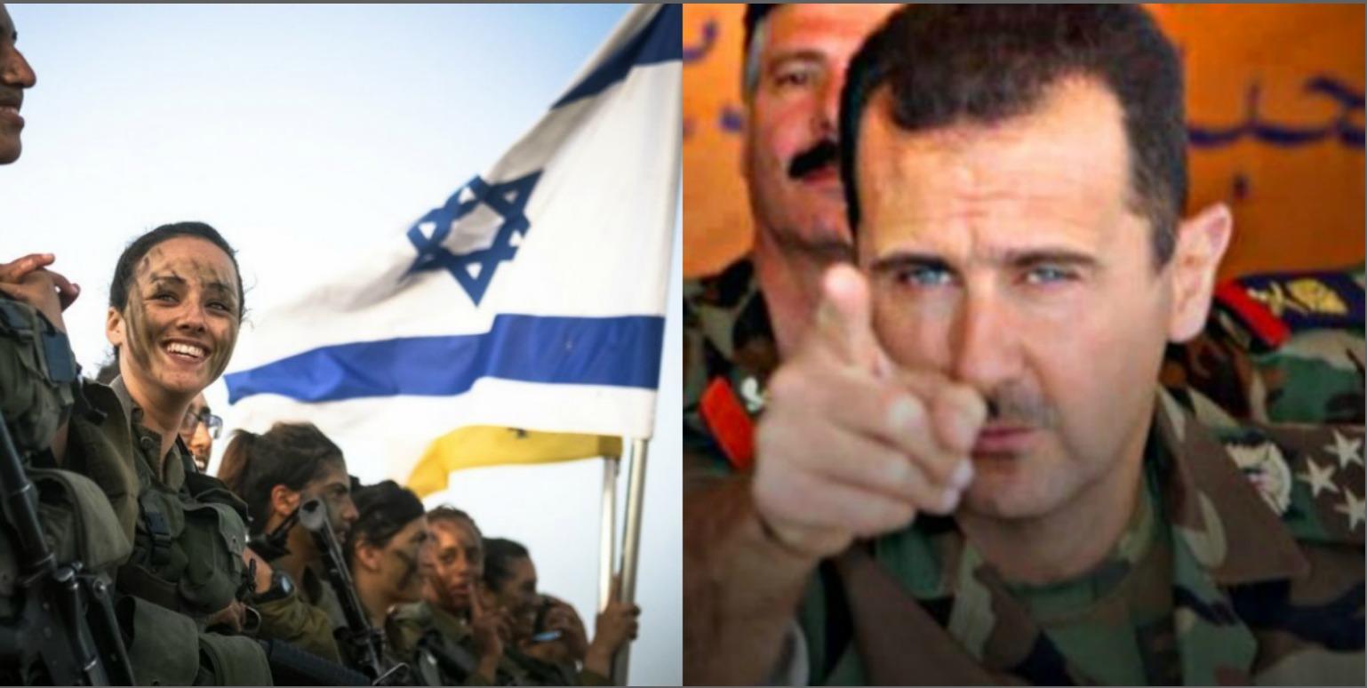 رسائل عسكرية من إسرائيل لنظام الأسد