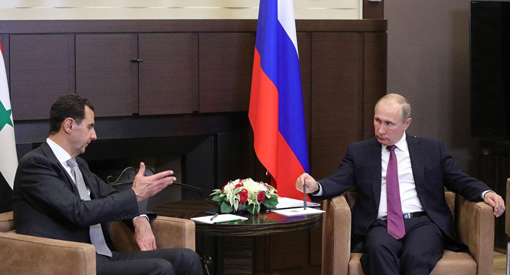 تنحي بشار الأسد بوتين روسيا