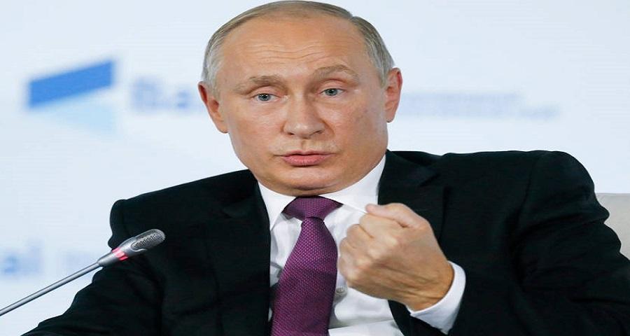 بوتين يعلن توقف العمليات في سوريا