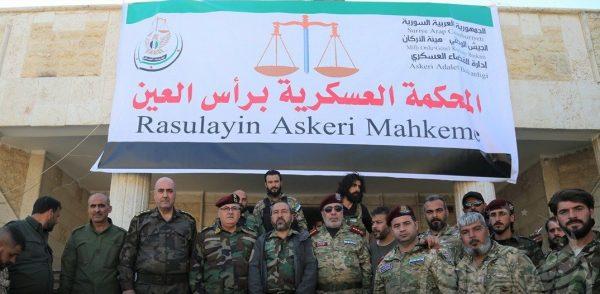 تأسيس محكمة عسكرية في رأس العين