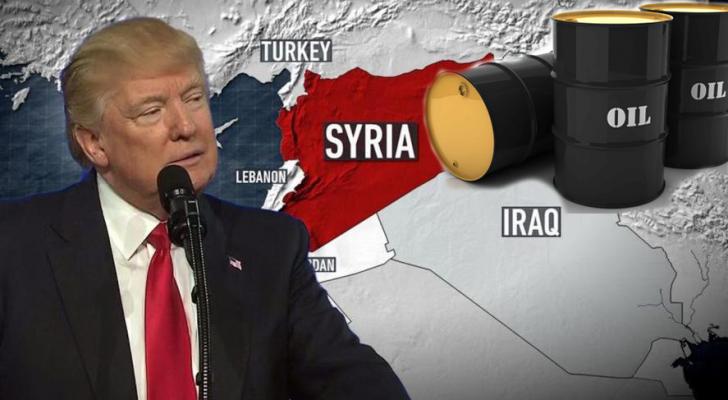 ترمب يصادر النفط السوري