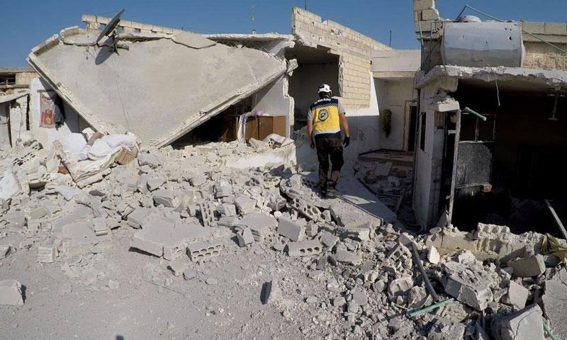تصعيد روسي على ريف إدلب