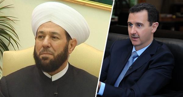 حسون وبشار الأسد