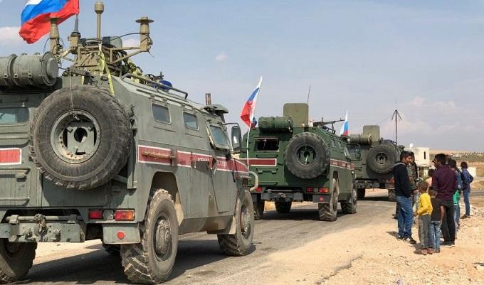 دورية روسية تركية مشتركة