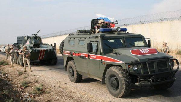 دورية روسية شمال شرقي سورية