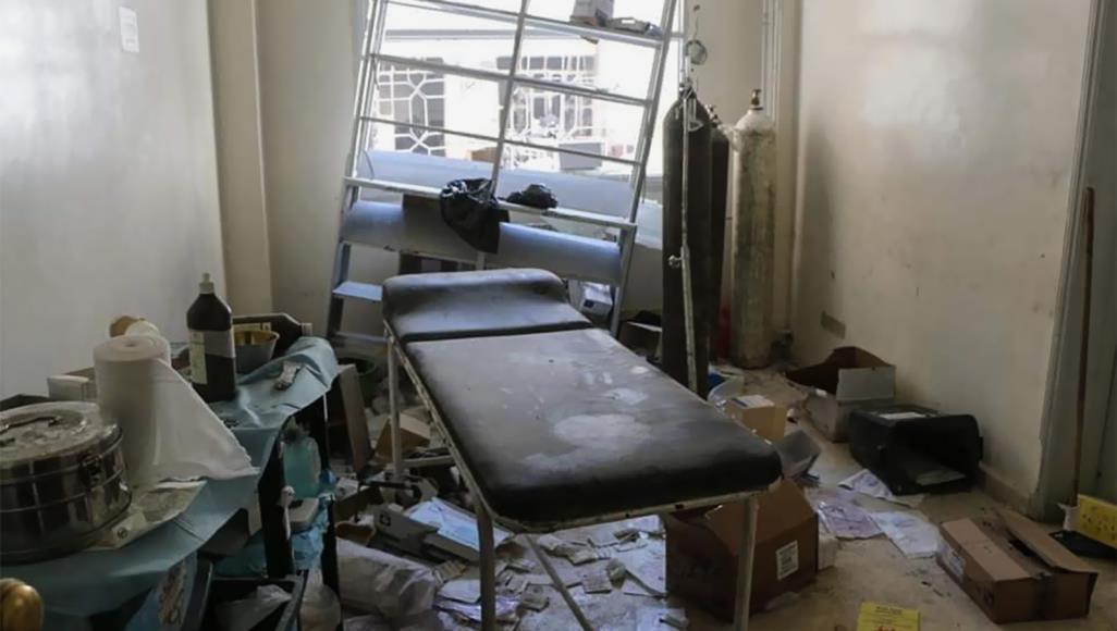 روسيا ومستشفيات إدلب