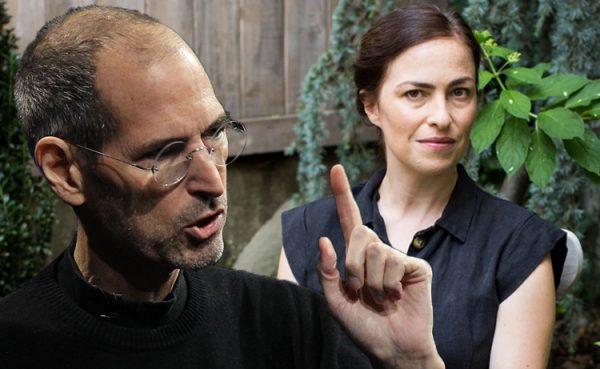 ستيف جوبز وابنته ليزا