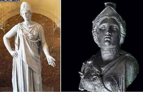 صورة تمثال نشرته وسائل إعلام يمنية قالت أنه للملكة بلقيس