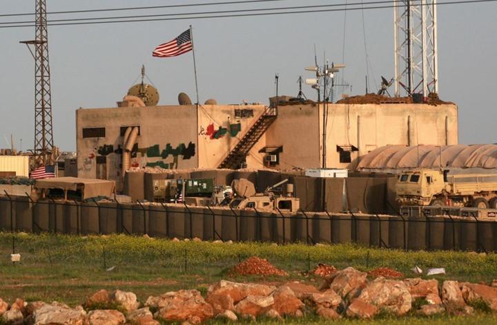 قاعدة أمريكية شرقي الفرات