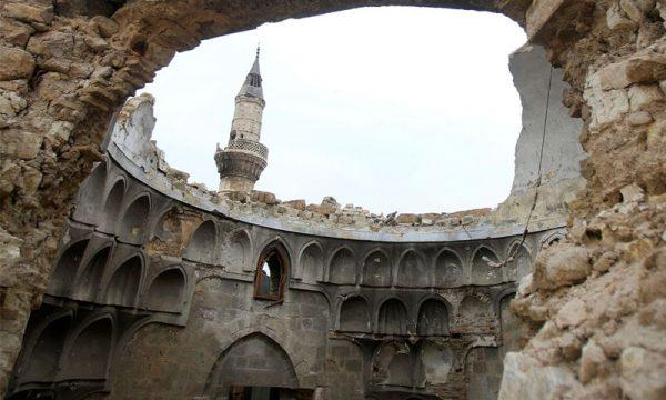 قبة مسجد في حلب