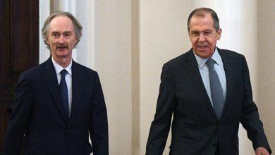 Photo of لافروف يلتقي بيدرسون الأسبوع المقبل في روما لحل إشكـ.ـلات اللجنة الدستورية