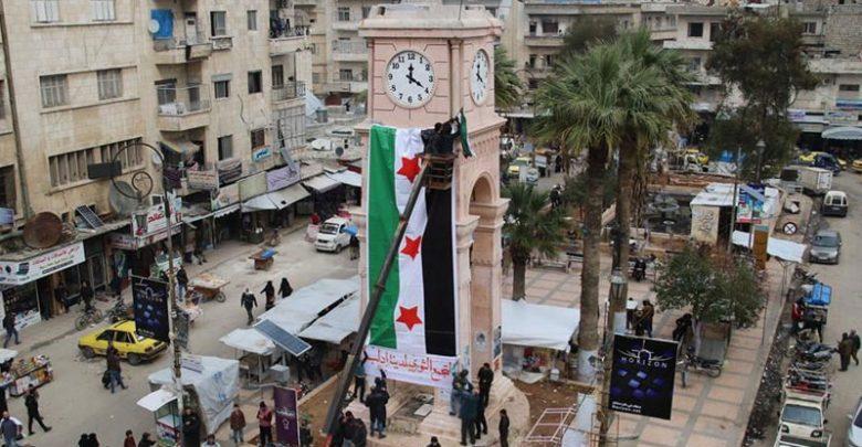 "Photo of ""حكومة الإنقاذ"" ترد على المتظاهرين: ""نبع السلام"" وراء ارتفاع الأسعار في إدلب"