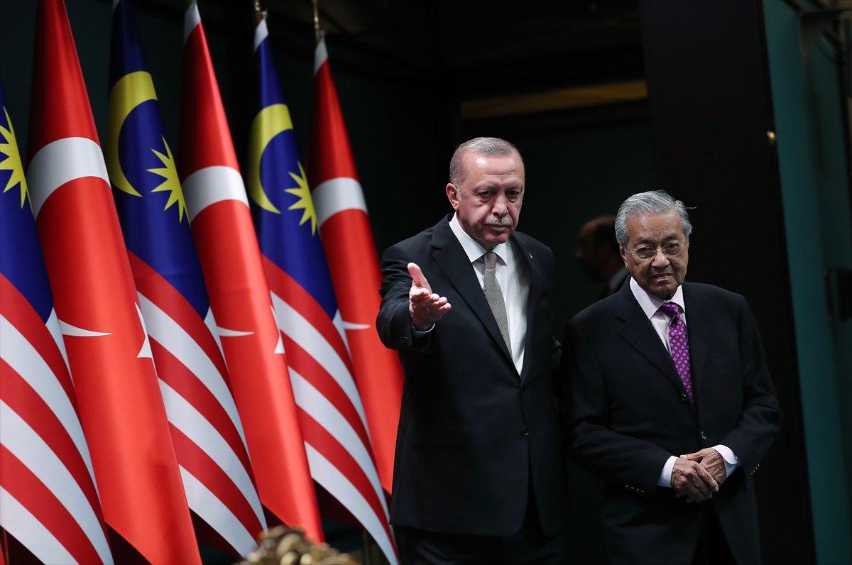 مهاتير محمد و الرئيس التركي أردوغان