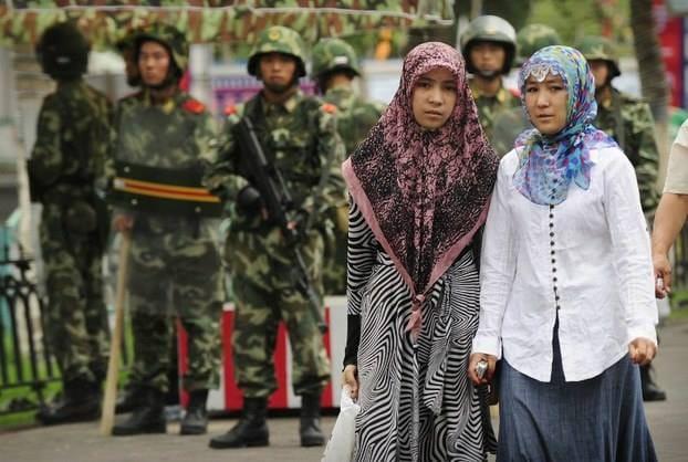 نساء الإيغور