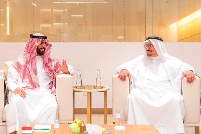 وزيرا الثقافة والتعليم السعوديين