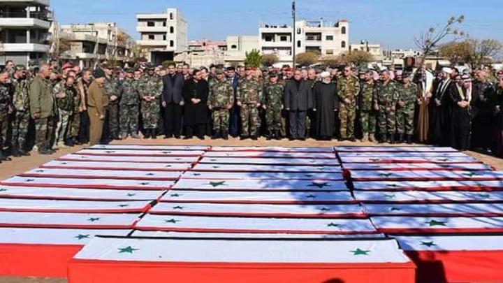 صفحات موالي تنعي 20 عنصراً من قوات الأسد